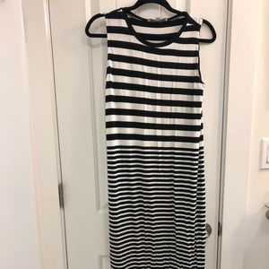 Loft long tank dress